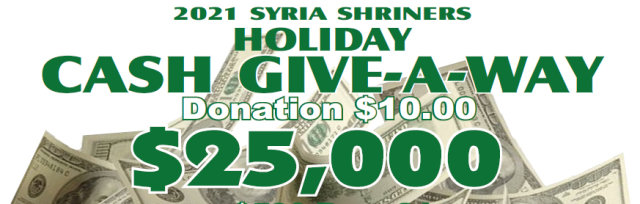 Pittsburgh Shriners Holiday Cash Give-A-Way