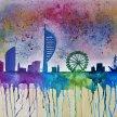"""Let's Paint """"Colourful Pompey"""" image"""