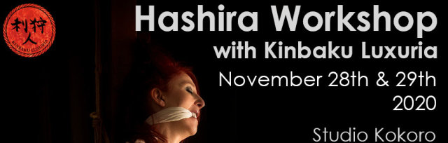 Hashira Workshop with Kinbaku LuXuria
