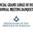 Provincial Grand Lodge of Durham Annual Meeting Banquet image