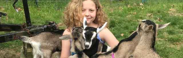 April Break on the Farm for 8-13 Year Olds