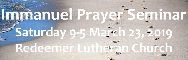 Immanuel Prayer Seminar Minnesota part 2