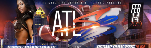 Superbowl 2019 in Atlanta - Elite Creative Group Events & Rooms