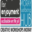 "'For Enjoyment"" ONLINE sessions Saturdays 27th June - 1st August, 2pm - 4pm for Moray folk! image"