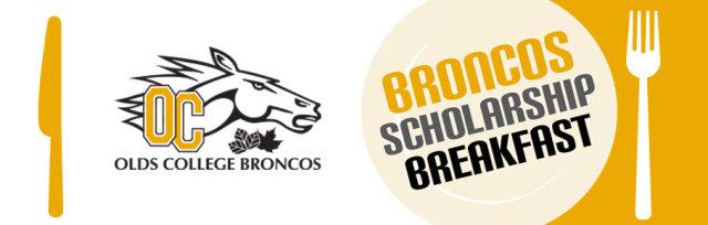 Olds College Broncos Scholarship Breakfast