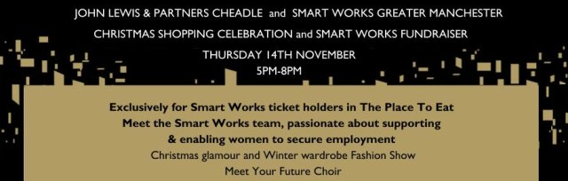 John Lewis & Partners Cheadle x Smart Works - 'Christmas Shopping Celebration'