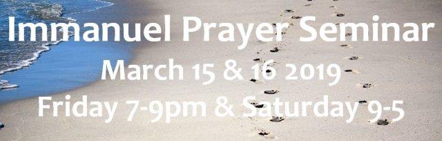 Immanuel Prayer Seminar Virginia Beach part 1