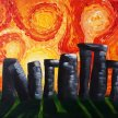 """Let's Paint """"Solstice in Stonehenge"""" image"""