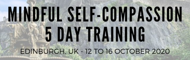The Official Mindful Self-Compassion Programme - (MSCI 9.0) - 5 Day NON-Residential Training