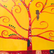 Paint & Sip Halloween Party! Klimts Tree of Life at 7pm $35 image