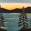 Paint & sip! Lake Tahoe at 3pm $35 image