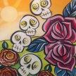 Paint & sip! Jumble Skulls at 3pm $35 image