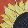 Paint & Sip! Into the Sunflower at 2pm $29 UPLAND image
