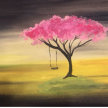 Paint & Sip! Lonely tree at 7pm $35 image