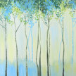 Brunch & Paint! Birch Trees at 2pm $35 image