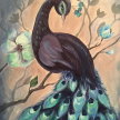 Paint & sip! Beautiful Peafowl at 3pm $29 image
