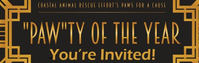 "Paws for a Cause- ""Paw""ty of the Year!"