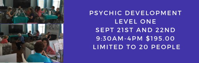 Psychic Development Level One