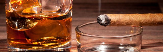 Cigar & Whiskey Patio Party