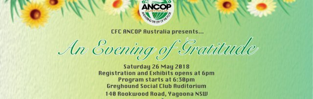 ANCOP Ambassador 2018-19 : An Evening of Gratitude