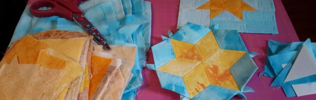 Traditional Patchwork Stars with Claire Nicol - £40