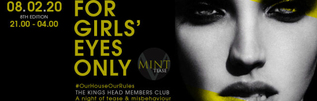Mint Tease: A night of DJs, Tease & Misbehaviour – Women Only
