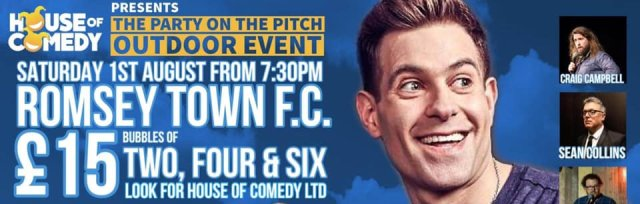 The Party on the Pitch - Outdoor Comedy LIVE!