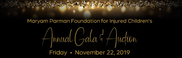 Maryam Parman Foundation for Injured Children's Annual Gala & Auction - Masquerade Party 2019