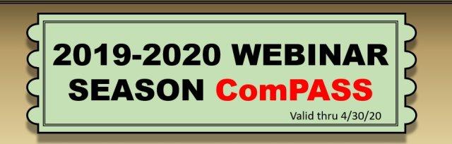 2019-2020 Webinar Season ComPASS