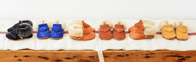 Leather: Baby Moccasins Workshop