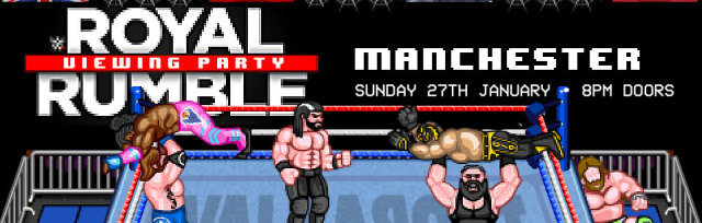 WWE Royal Rumble 2019 Viewing Party - Manchester