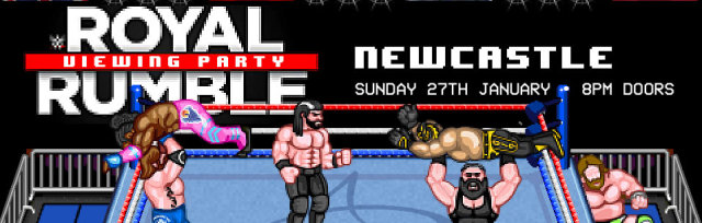 WWE Royal Rumble 2019 Viewing Party - Newcastle