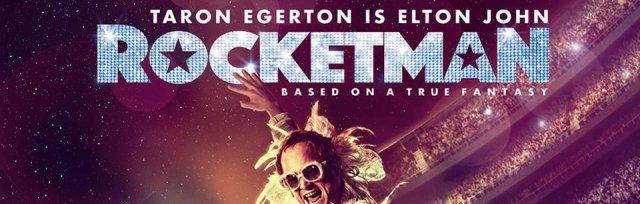 Rocketman (cert 15). Screening starts 7.30pm