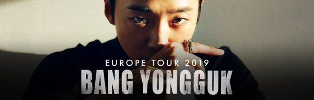 LONDON: Bang Yong Guk Concert