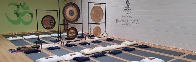 8.00pm Gong Bath at One Yoga, Chorlton