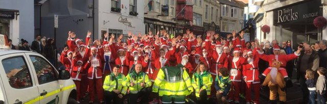 Tenby Round Table Santa Run 2018