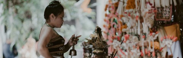 Experience an Ancient Ceremony By Ida Resi Alit, High Priestess of Bali