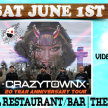 "CRAZY ON THE RIVER!  Feat CRAZYTOWN (20th Anniversary of ""THE GIFT OF GAME"") image"