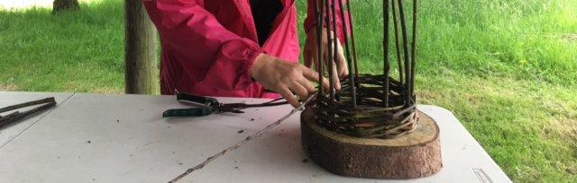Mini-Willow Obelisk Workshop - Grow At The Skim