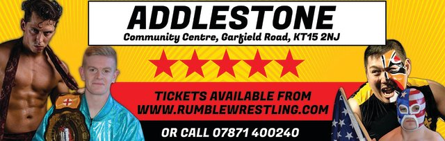 Rumble Wrestling comes to Addlestone