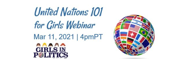 United Nations 101 for Girls Webinar