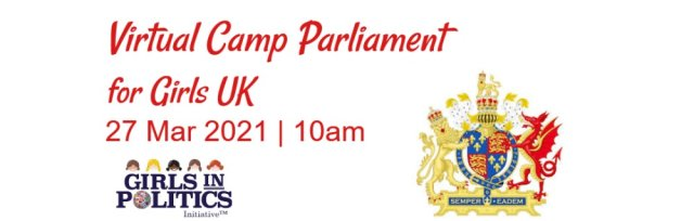 Virtual Camp Parliament for Girls UK