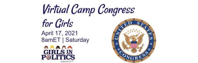 Virtual Camp Congress for Girls