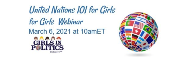 United Nations 101 for Girls Webinar