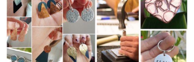 Adults Intro to Metalsmithing Textured Workshop