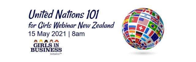 United Nations 101 for Girls Webinar New Zealand