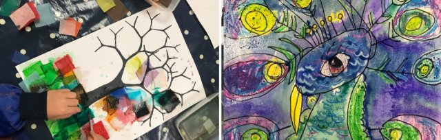 Art Course for Kids #4 Tuesdays with Sarah Moorcroft - 9 June to 7 July 2020 [Ref #432]