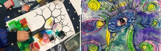 Art Course for Kids #4 Wednesdays with Sarah Moorcroft - 10 June to 8 July 2020 [Ref #433]