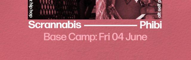 Phibi and Scrannabis at Base Camp