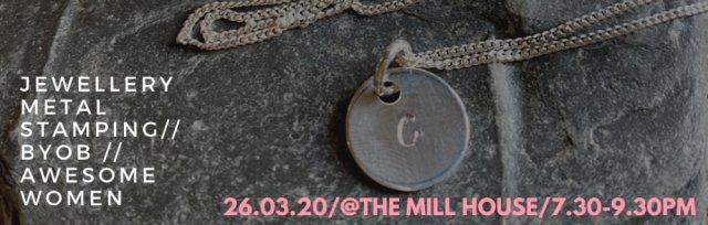 STAMP IT OUT: jewellery workshop with Prints & Bows